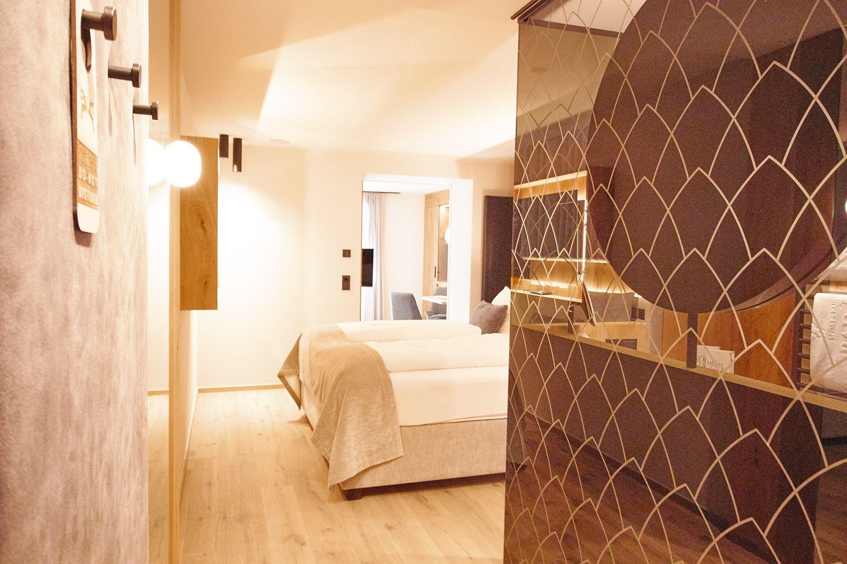 Hotelzimmer im Bad Moos Dolomites Spa Resort in Sexten