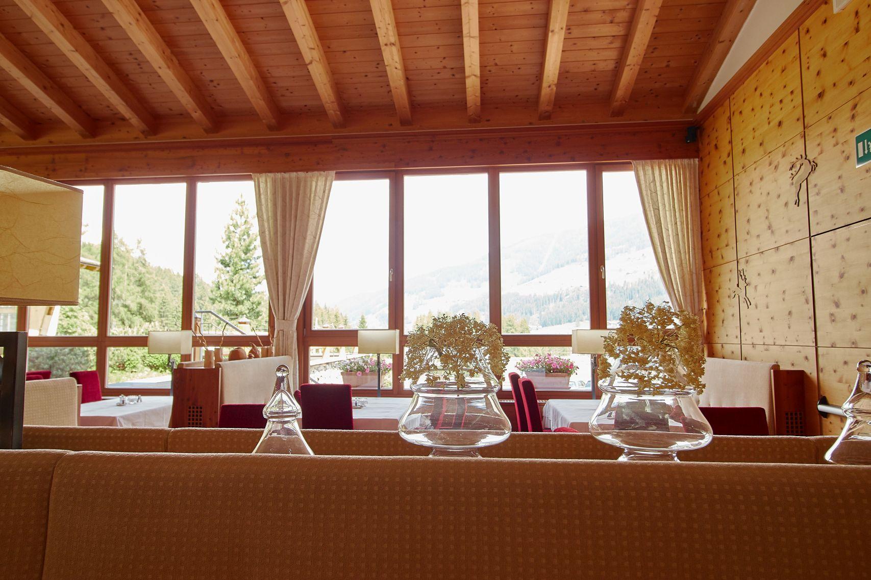 Restaurant im Bad Moos Dolomites Spa Resort in Sexten