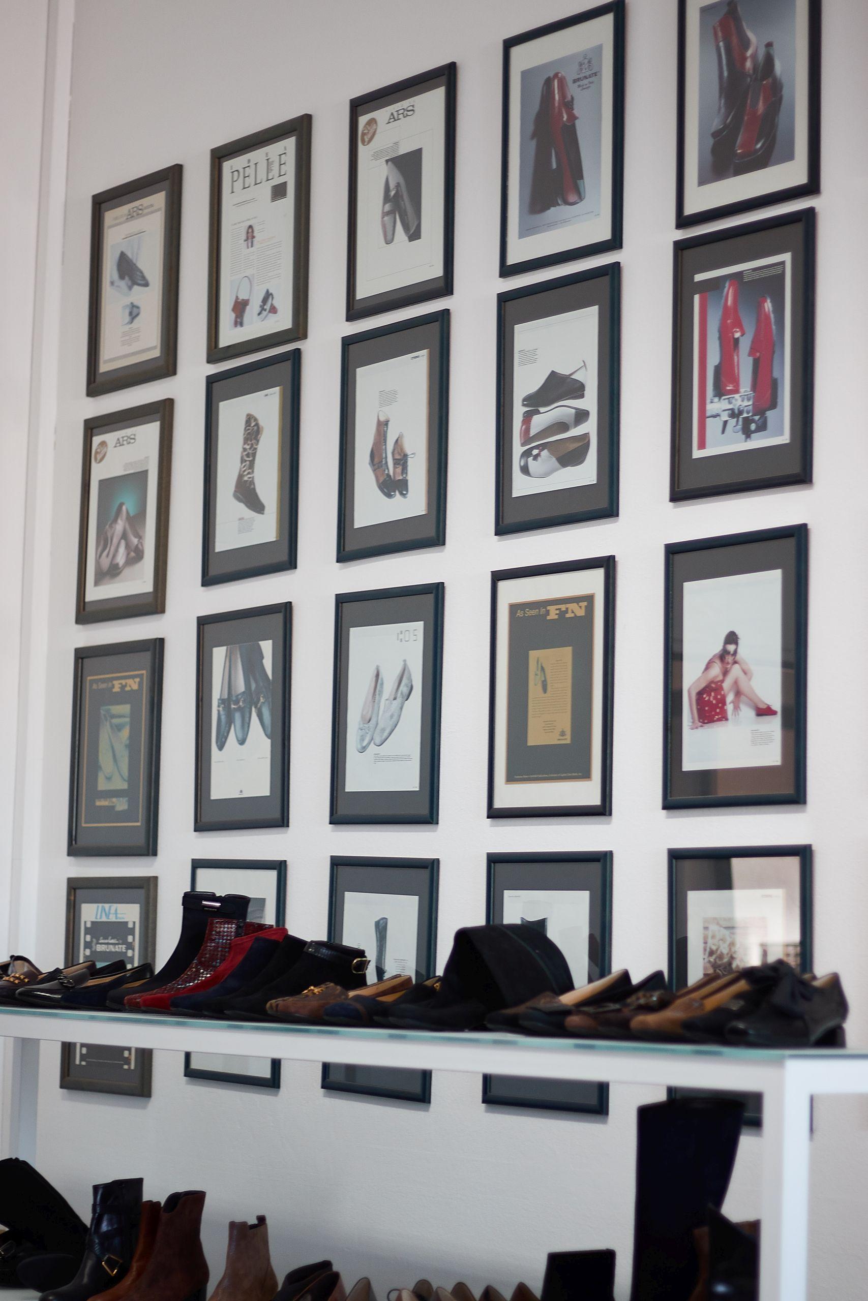 Fertigung von Brunate Schuhen